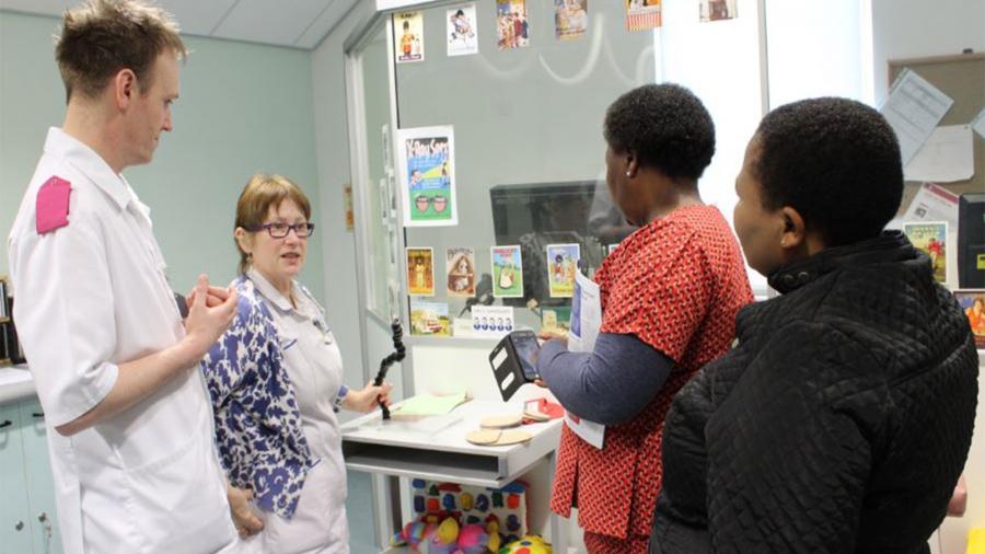Lesotho-nurse